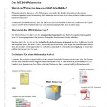 Der MC24-Webservice